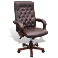 Cadeira de Escritório Presidente Pelegrin PEL-7616C