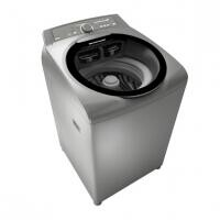 Máquina de Lavar Roupas Brastemp Ative! 11Kg Inox Sistema Fast - BWG11AR