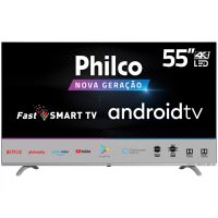 "Smart TV Android 55"" Philco 4K UHD D-LED PTV55Q20AGBLS"