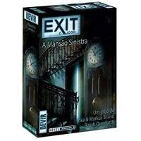 Jogo de Tabuleiro EXIT: A Mansão Sinistra - Devir