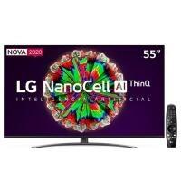 "Smart TV LED 55"" 4K LG - 55NANO81SNA"