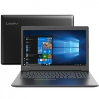 "Notebook Lenovo I3-7020U 4GB HD 500GB HD Graphics 620 Tela 15.6"" - 81G70004BR"