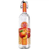Vodka 360 Georgia Peach Pêssego 750ml
