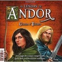 Jogo de Tabuleiro As Lendas de Andor: Chada e Thorn - Devir