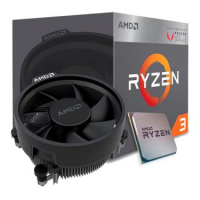 Processador AMD Ryzen 3 2200G PRO 3.5GHz 4-Cores 4-Threads Cooler Wraith Stealth AM4 - YD2200C5FBBOX OEM