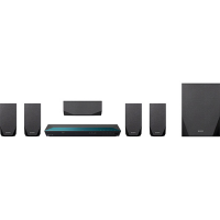Home Theater Sony Blu-ray 3D FHD 5.1 Canais HDMI USB Bluetooth Função Torcida 850W - BDV-E2100