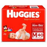 Fraldas Huggies Supreme Care M - 40un