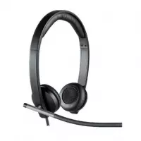 Headset Logitech com Microfone Stereo - H650E