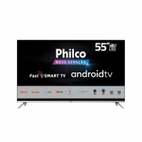 "Smart Android TV Philco UHD 4K 55"" Philco PTV55G71AGBLS"