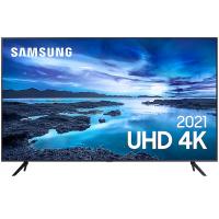 "Smart TV Samsung LED 70"" 4K 3 HDMI 2 USB - UN70AU7700GXZD"