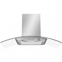 Coifa de Parede Philco 90cm Inox Vidro Curvo Dupla Função 3 Velocidades Glass