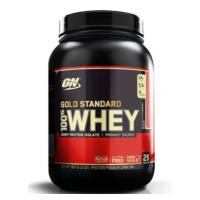 100% Whey Protein Gold Standard Morango Optimum Nutrition 907g