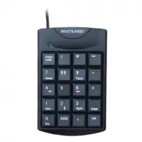 Teclado Numérico Multilaser com Fio USB - TC229