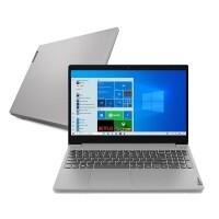 "Notebook Lenovo Ideapad 3i Celeron 4GB 128GB Ssd W10 15.6"" 82BU0001BR"