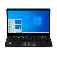 "Notebook Multilaser Legacy Book Intel Pentium J3710 4GB HD 64GB Tela 14"" HD W10 - PC311"