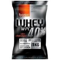 Whey Protein 40% Basic Nutrition 1kg