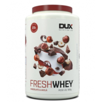 Fresh Whey Chocolate Belga e Avelã Dux Nutrition 900g
