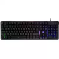 Teclado Gamer DAZZ Rapid Fire Revolution Rainbow ABNT2 - 625203