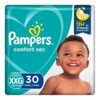 Fraldas Pampers Confort Sec XXG - 30un