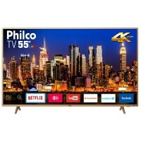 "Smart TV LED 55"" 4K Philco PTV55F61SNC"