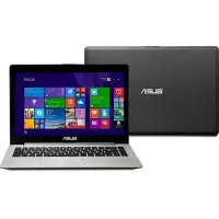 Notebook Asus Vivobook S400CA i5-3317u 4GB 500GB Tela 14\