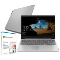 "Notebook Lenovo Ideapad S145 i3-1005G1 4GB SSD 128GB Intel UHD Graphics Tela 15.6"" + Microsoft 365 Personal - 82DJ0008BR"