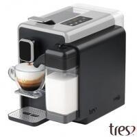 Máquina de Café Espresso Três Corações Barista Prata
