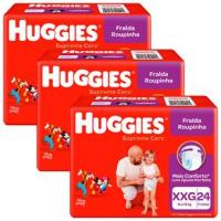 Fraldas Huggies Roupinha Supreme Care  XXG - 72un