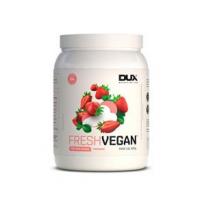 Whey Protein Fresh Vegan Morango Dux Nutrition 520g