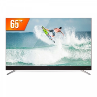 """Smart TV LED 65"""" Ultra HD 4k Semp TCL 65C2US Android TV"""