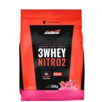 3 Whey Nitro2 Morango New Millen 900g