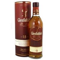 Whisky Glenfiddich Single Malt 15 Anos 750ml