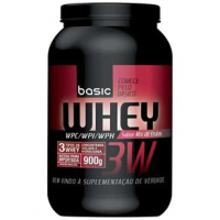 Whey Protien 3W Basic Nutrition 900g