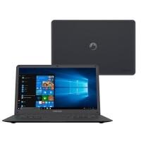 Notebook Positivo Motion Q432A Intel Atom 4GB 32GB + 64GB Nuvem Tela 14\